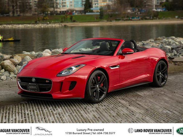2014 Jaguar F-TYPE Convertible V8 S - Vancouver, British Columbia Used Car For Sale - 2637668