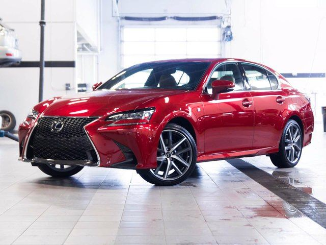 owned unit demo gs pre sport f of lexus new in vehicles edmonton series