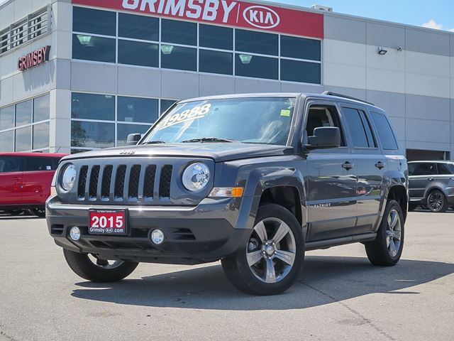 2015 JEEP Patriot High Altitude LOADED LOADED LOADED in Grimsby, Ontario