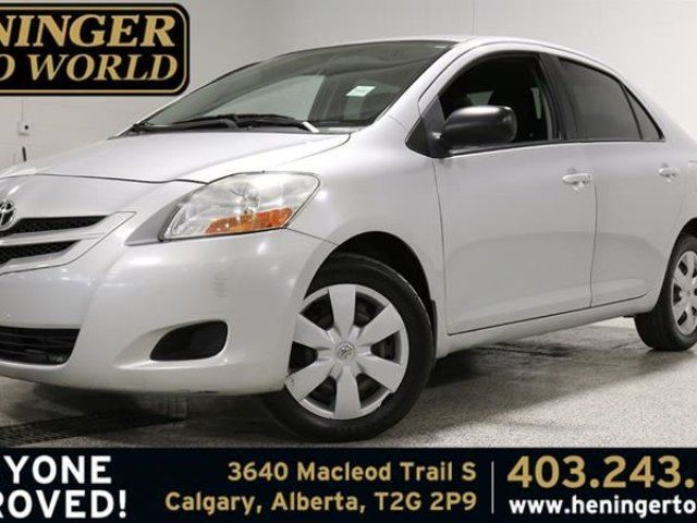 Used 2007 Toyota Yaris 150 4 Door Sedan 4a Calgary Wheels