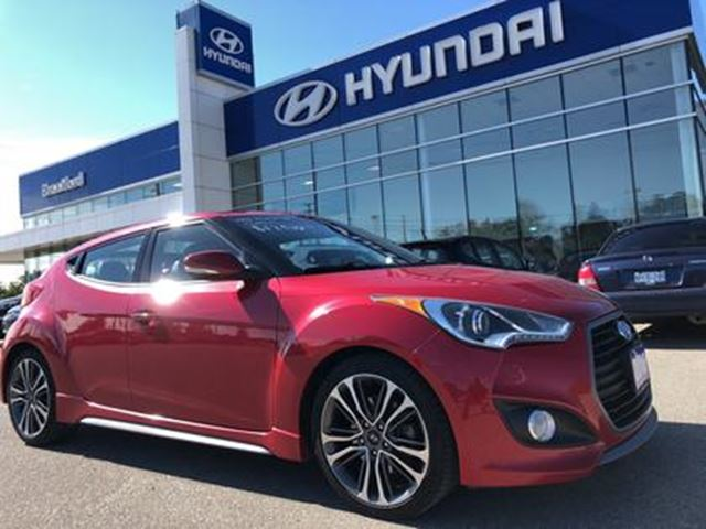 2016 HYUNDAI Veloster Turbo   Automatic   Navigation - Local - $107.50 B in Brantford, Ontario