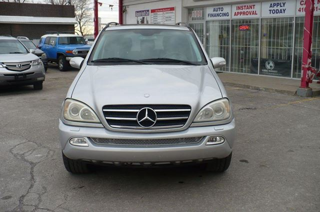Used 2005 mercedes benz ml500 5 0l toronto for 2005 mercedes benz ml500