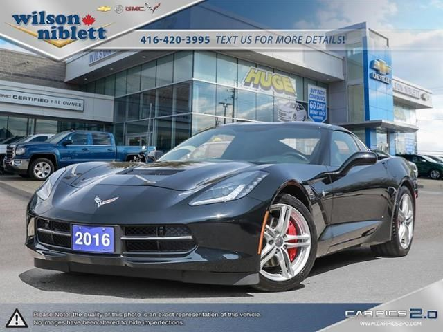2016 Chevrolet Corvette 3lt Richmond Hill Ontario Car For