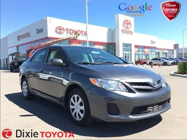 2013 TOYOTA Corolla CE (A4), HEATED SEAT, POWER GROUP in Mississauga, Ontario