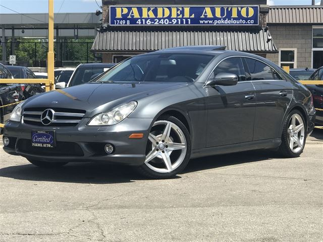 2010 MERCEDES-BENZ CLS-Class CLS550 AMG PKG*NAVI*PUSH START*PARK ASSIST in Toronto, Ontario