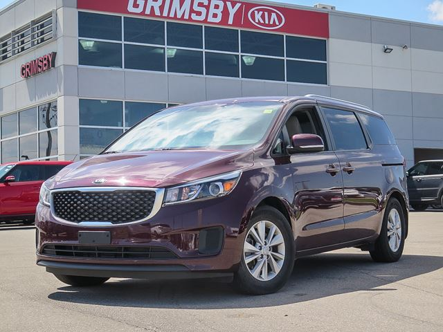 2016 KIA Sedona LX+...FOR ANY AND ALL OCCASIONS!!! in Grimsby, Ontario
