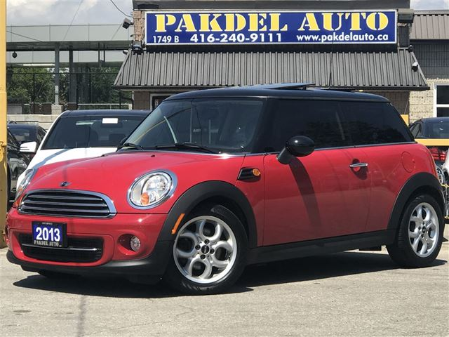 2013 Mini Cooper Cooperaccident Freelow Kmpanoramic Roof