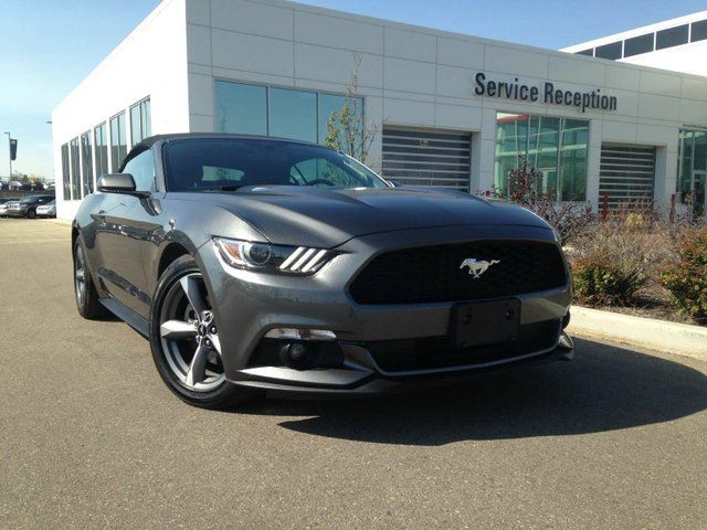 2016 FORD Mustang V6 Push Button Start, Backup Camera in Edmonton, Alberta