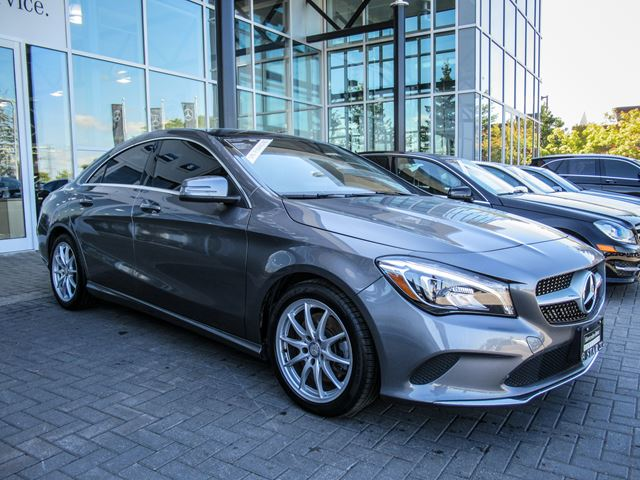Used 2017 mercedes benz cla250 4matic coupe ottawa for 2017 mercedes benz cla250