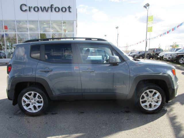 used 2017 jeep renegade north automatic 4x4 calgary. Black Bedroom Furniture Sets. Home Design Ideas