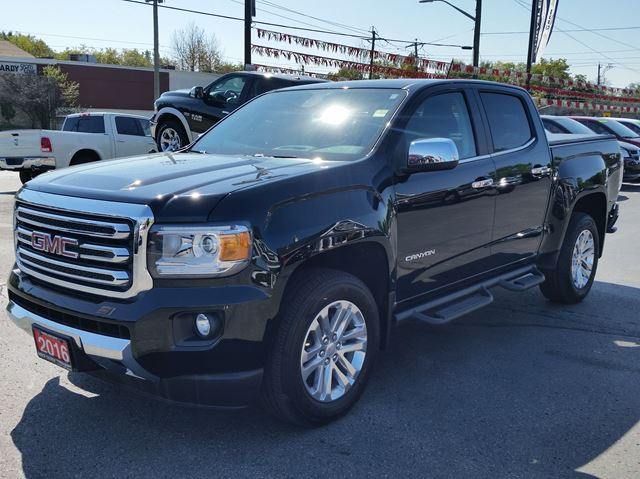used 2016 gmc canyon 4wd slt nav heated seats. Black Bedroom Furniture Sets. Home Design Ideas