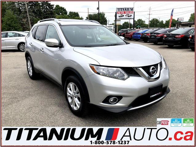 2014 NISSAN Rogue SV+AWD+Camera+Pano Roof+Heated Seats+Fog Lights+XM in London, Ontario