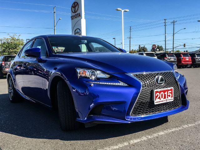 used 2015 lexus is 250 f sport 2 navigation sunroof cobourg. Black Bedroom Furniture Sets. Home Design Ideas