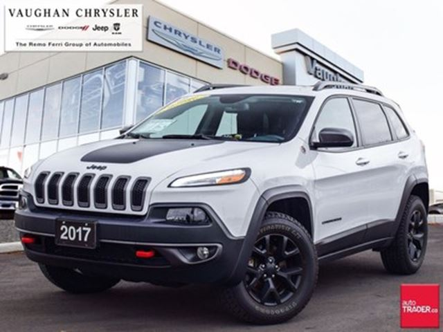 2017 JEEP Cherokee 1 Owner *Trailhawk* 4x4 * Navigation in Woodbridge, Ontario