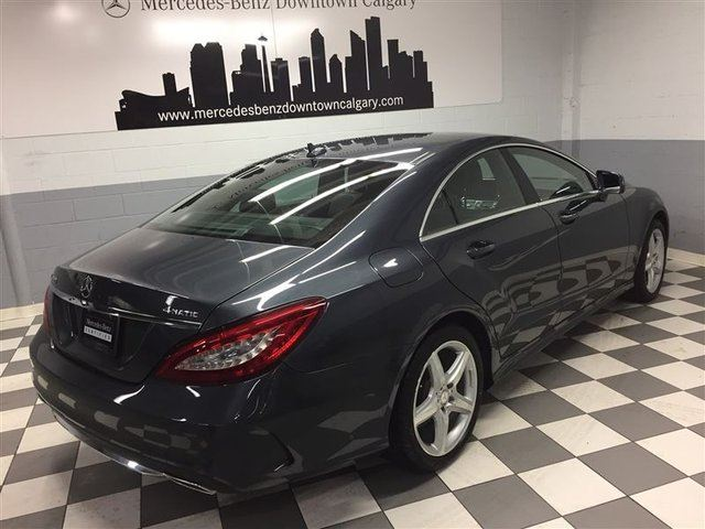used 2016 mercedes benz cls class cls550 4matic intelligent drive exclusive calgary. Black Bedroom Furniture Sets. Home Design Ideas