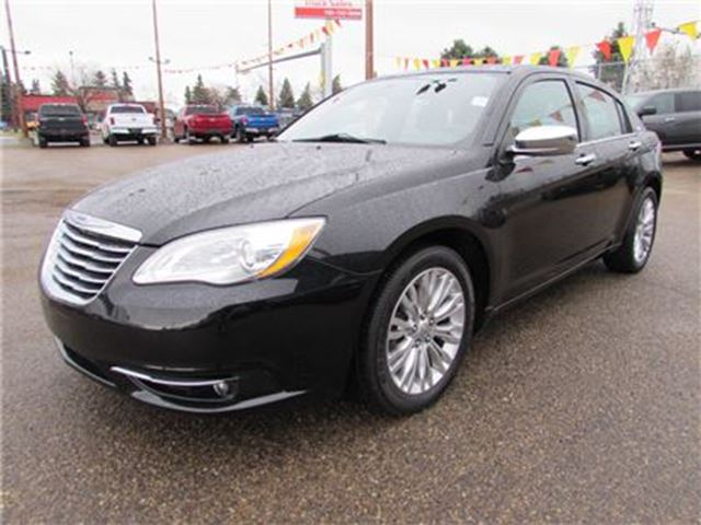used 2012 chrysler 200 v 6 cy limited edmonton. Black Bedroom Furniture Sets. Home Design Ideas