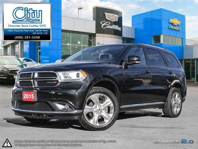 used 2015 dodge durango limited toronto. Black Bedroom Furniture Sets. Home Design Ideas