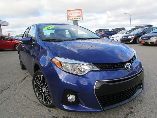 2014 Toyota Corolla 4dr Sdn Man S in Corner Brook, Newfoundland And Labrador