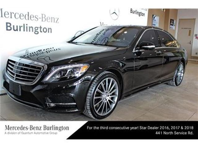 Used 2017 mercedes benz s550 gas 4matic sedan lwb for Mercedes benz st catharines
