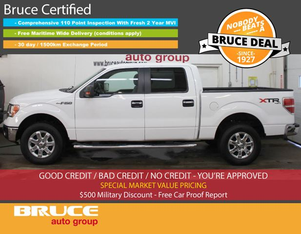 2014 Ford F-150 XLT 5.0L 8 CYL AUTOMATIC 4X4 SUPERCREW in