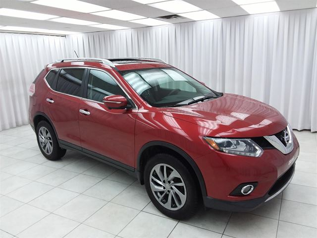 2014 Nissan Rogue 2.5SL AWD PURE DRIVE SUV w/ BLUETOOTH, HEATED S in