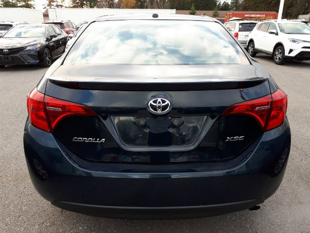 used 2018 toyota corolla xse top of the line. Black Bedroom Furniture Sets. Home Design Ideas