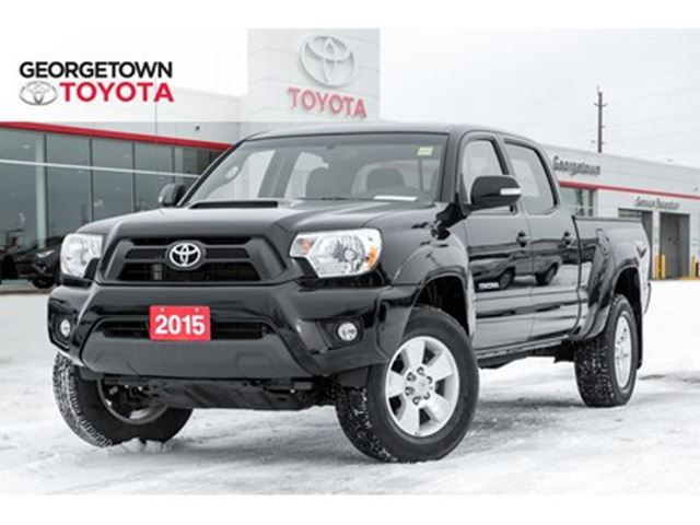 2015 TOYOTA Tacoma V6 BACKUP CAM HEATED SEATS BLUETOOTH TRD SPORT in Georgetown, Ontario