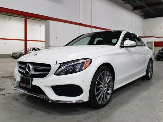 Used 2015 mercedes benz c class c400 4matic premium for Mercedes benz c class wheels