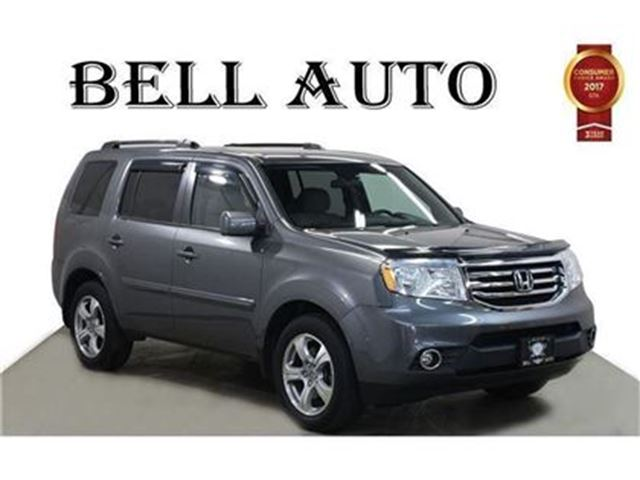 used 2013 honda pilot v 6 cy ex l leather sunroof rearview camera pwr lift gate toronto. Black Bedroom Furniture Sets. Home Design Ideas
