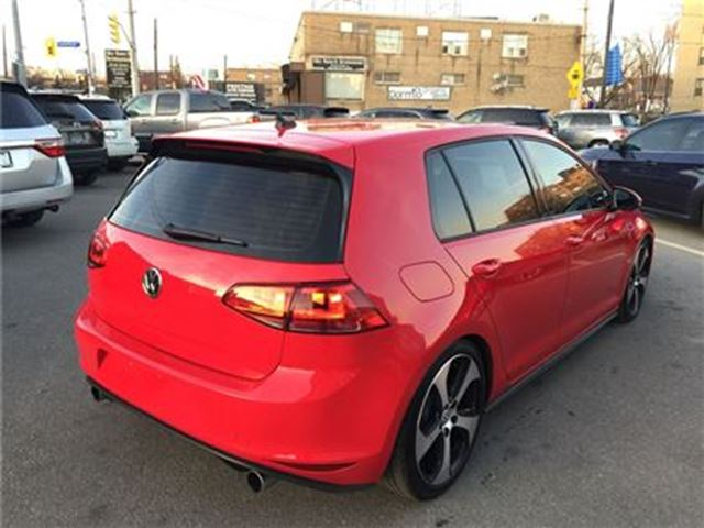USED 2015 Volkswagen Golf GTI I-4 cy 5-Door Autobahn / LEATHER / SUNROOF / REAR CAM!!! - Toronto ...