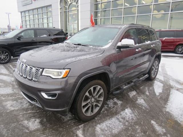 2017 JEEP Grand Cherokee Overland*CUIR, TOIT, V6, GPS* in Trois-Rivieres, Quebec