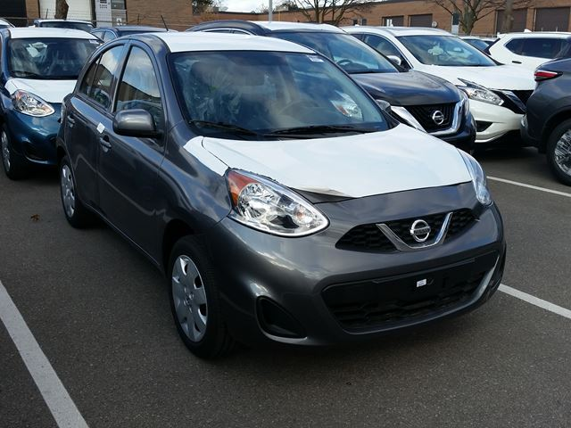 2017 NISSAN Micra S in Mississauga, Ontario