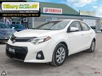2016 Toyota Corolla S. Back up Cam. Bluetooth. Heated seats. Leather* in Tilbury, Ontario