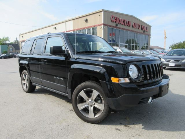2017 JEEP Patriot 4X4 HIGH ALTITUDE, ROOF, LEATHER, 29K in Stittsville, Ontario