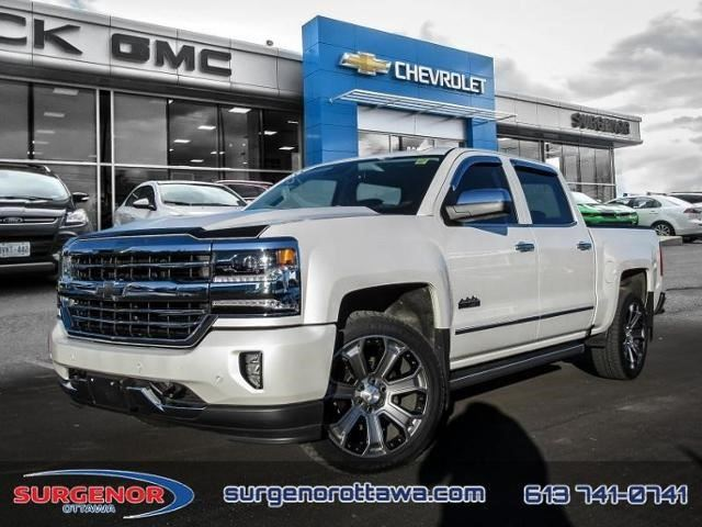 2017 CHEVROLET Silverado 1500 High Country in Ottawa, Ontario