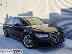 2017 Audi A8 LWB 4.0T quattro 8sp Tiptronic | Bose Sound System | Nav | Back-up Cam | Ventilation Front Seats in Edmonton, Alberta