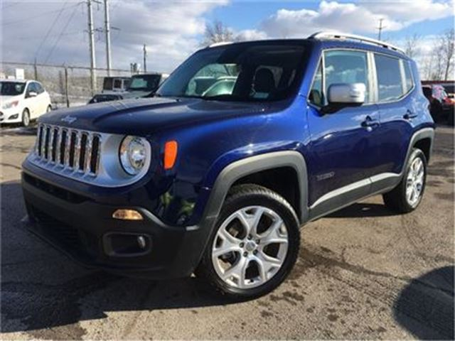 USED 2017 Jeep Renegade 2.40 Limited LEATHER NAVIGATION ...