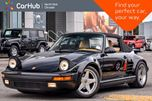 1988 Porsche 911 Turbo Slant Nose Cabriolet RUF FabSpeed exhaust Manual Canton Audio  in Thornhill, Ontario