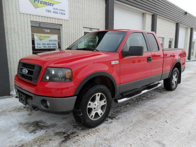 2007 Ford F-150 FX4 4x4 Super Cab Styleside 6.5 ft. box 145 in. WB in