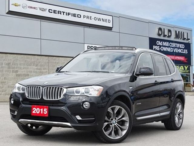 2015 BMW X3 328i Fully Loaded   AWD   Brown Leather INT   Clea in Toronto, Ontario
