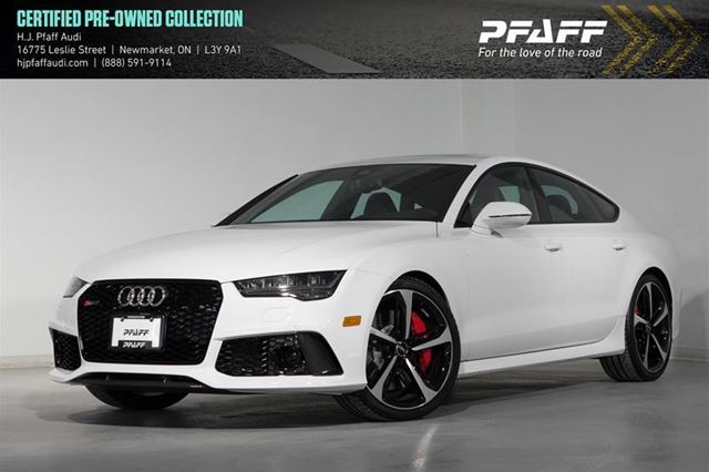 Used 2018 Audi Rs7 40t Newmarket Wheelsca