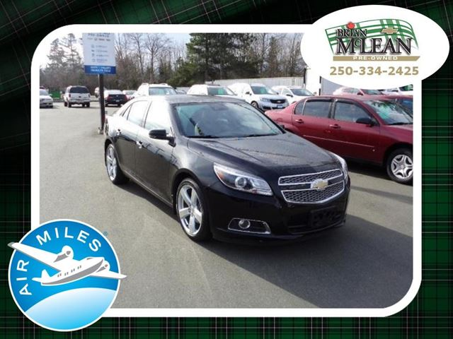 2013 CHEVROLET MALIBU LTZ in Courtenay, British Columbia