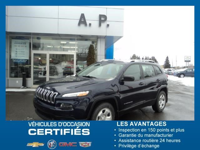 2015 Jeep Cherokee Sport in