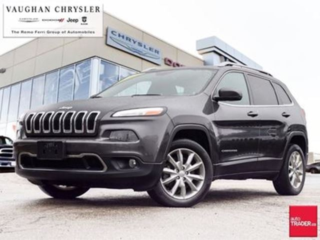 2017 JEEP Cherokee Limited *Leather * Clean Carproof in Woodbridge, Ontario