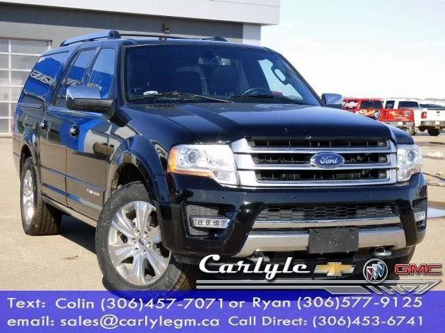 2017 Ford Expedition Platinum in Carlyle, Saskatchewan