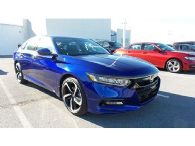 2018 HONDA Accord  Touring Honda Sensing in Mississauga, Ontario