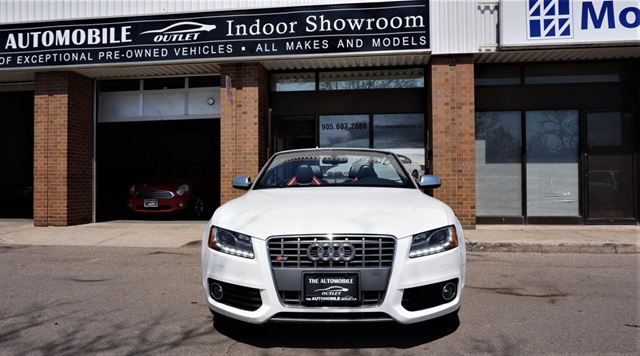 Used 2010 Audi S5 Convertible Premium Awd Navi Back Up No Accident