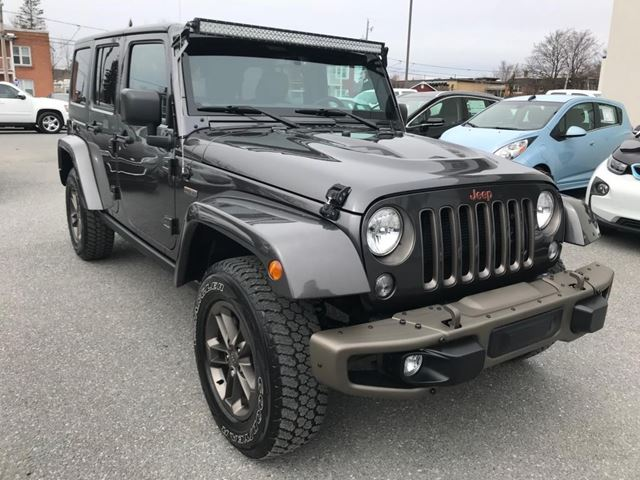 2017 Jeep Wrangler Unlimited 75th Anniversary in