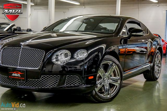 2012 BENTLEY CONTINENTAL W12 W12 TWIN-TURBO  MULLINER in Oakville, Ontario