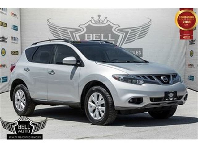 2014 NISSAN Murano SL PANO SUNROOF LEATHER BACK-UP CAM AWD in Toronto, Ontario